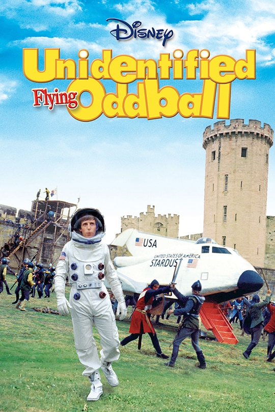 Disney Unidentified Flying Oddball movie poster