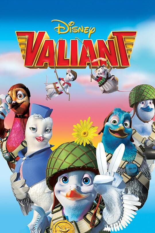 Disney Valiant movie poster