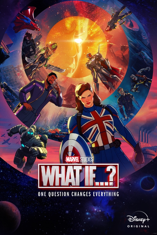 Marvel Studios | What If...? | One question changes everything | Disney+ Original | movie poster