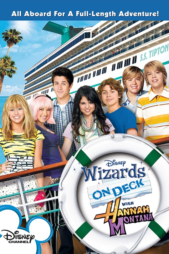 Wizards on Deck with Hannah Montana movie poster