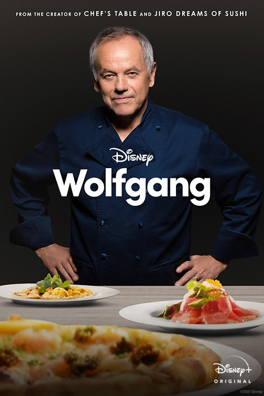 From the Creator of Chef's Table and Jiro Dreams of Sushi | Disney | Wolfgang | Disney+ Original movie poster
