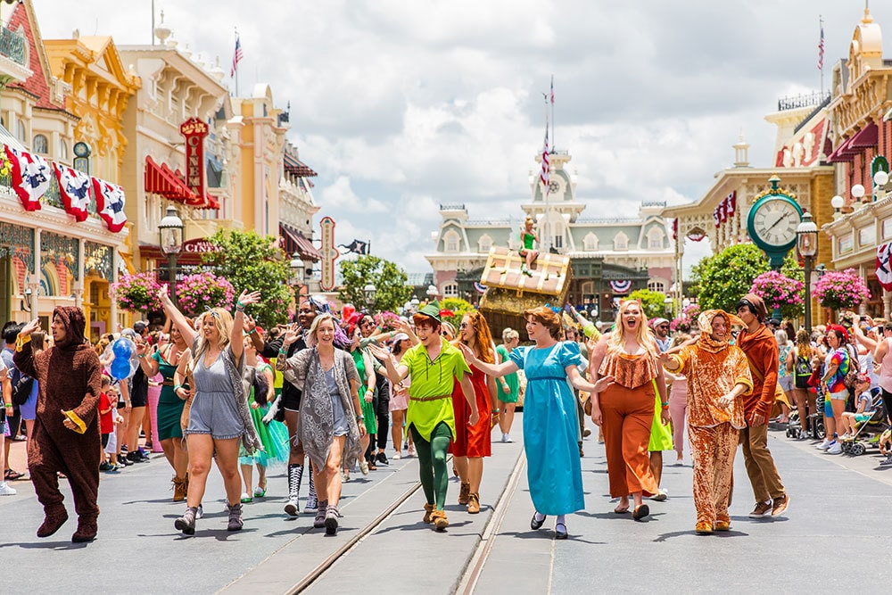 Peter Pan 65th Anniversary Parade at Walt Disney World Resort