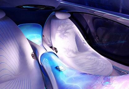 Mercedes-Benz VISION AVTR interior seating