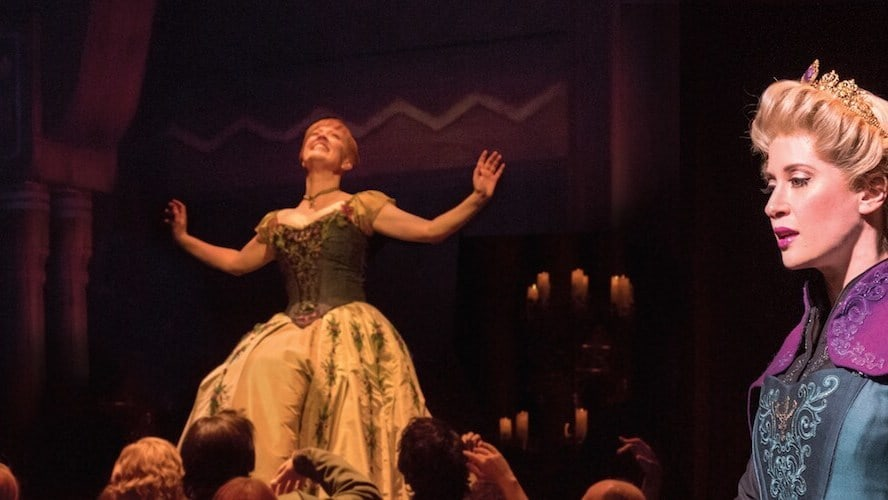 These New Frozen on Broadway Production Photos Are Breathtaking
