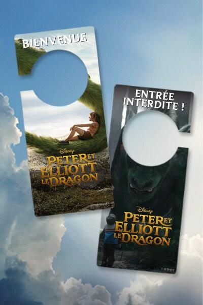 Affichette de porte Peter & Elliott