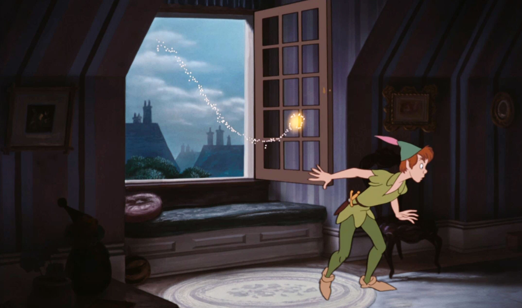 "Tinker Bell and Peter Pan in ""Peter Pan"""