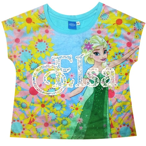 Frozen Elsa Extended Top