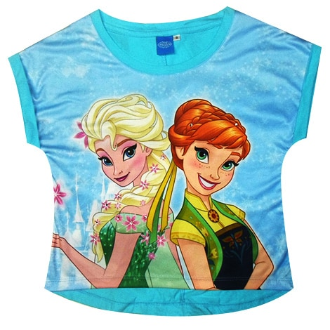 Frozen Elsa and Anna Top