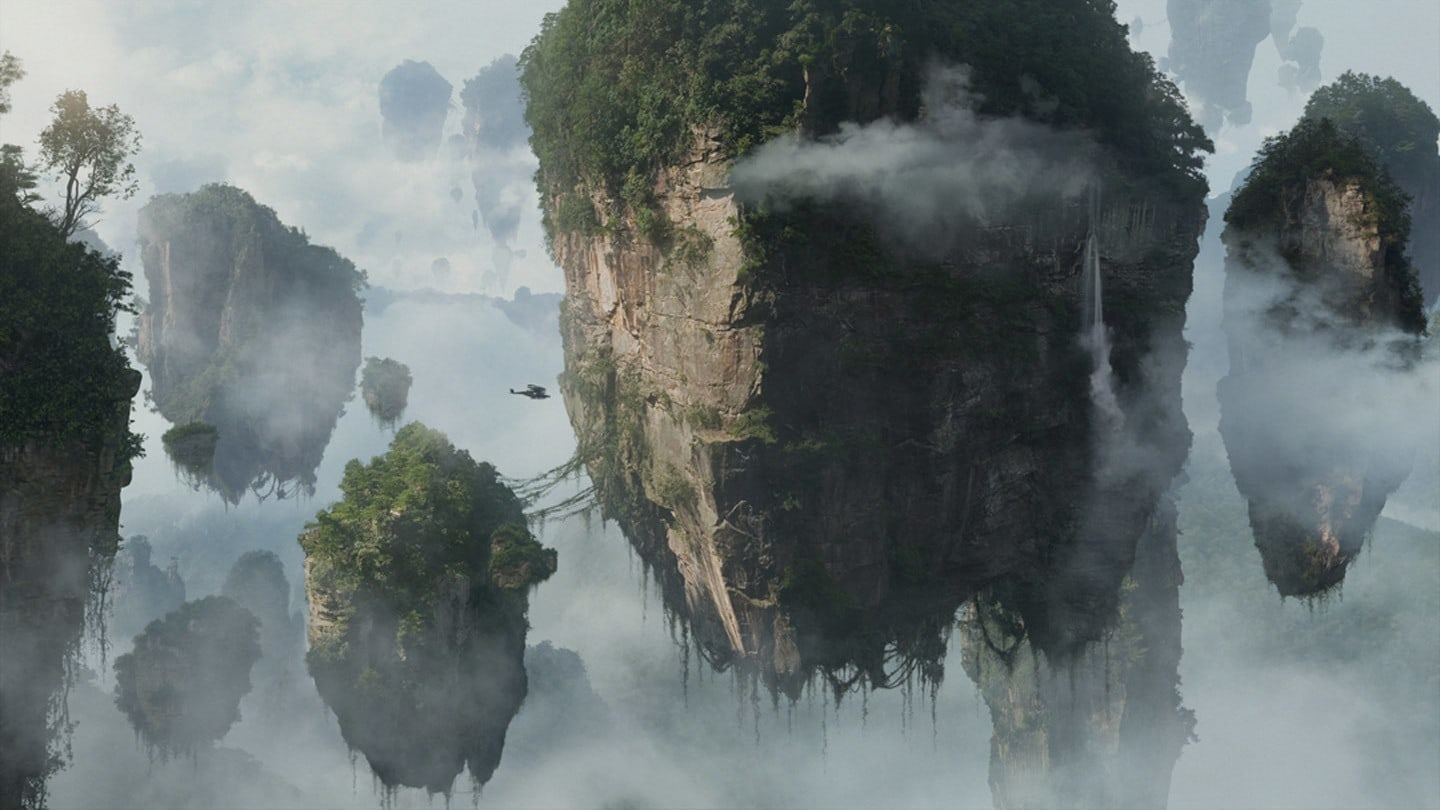 The majestic floating mountains