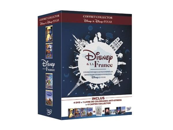 Pack DVD Disney et la France