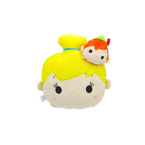 Tsum Tsum Kawaii Pillow Tinker bell  and Peter pen
