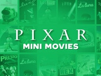 Pixar Mini Movies collection