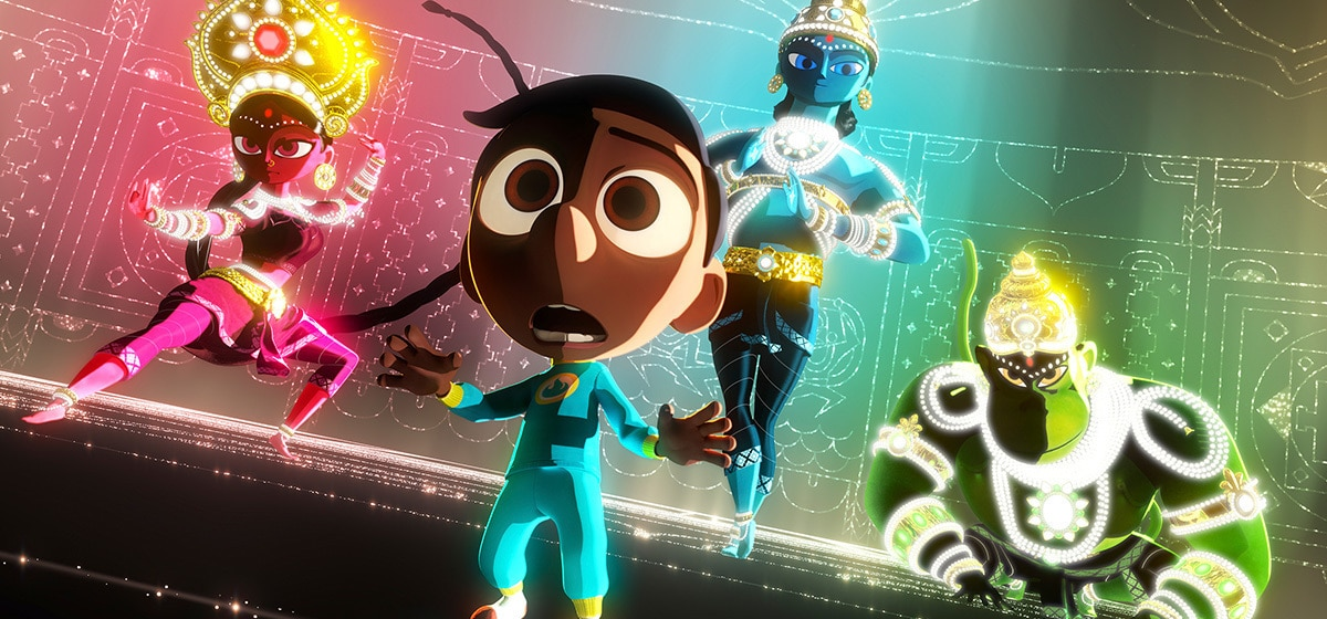 "Sunjay's Super Team from ""Pixar Short Films Collection, Vol. 3"""