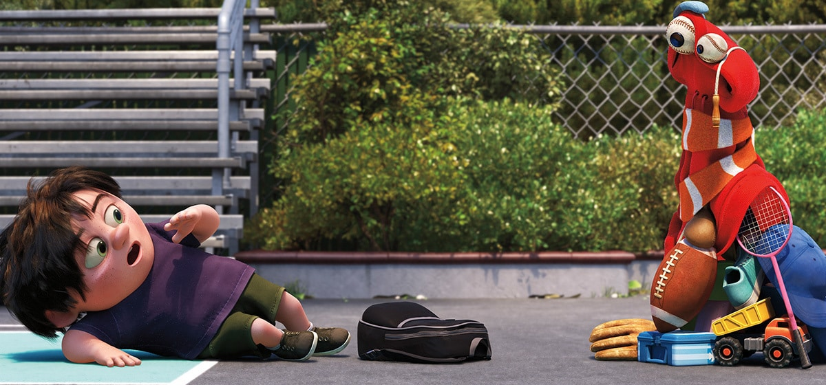 """Lou from """"Pixar Short Films Collection, Vol. 3"""""""