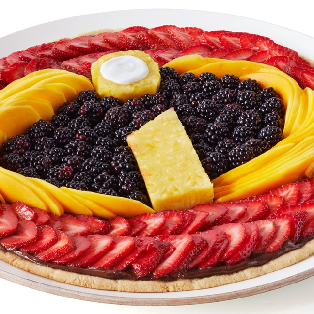 Superpizza de frutas dos Incríveis