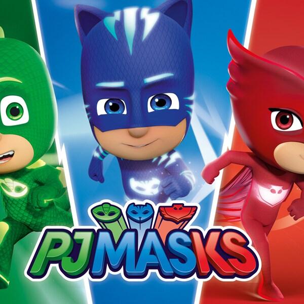 ¡Arma tus máscaras y amuletos, ponte el pijama y a jugar con los PJ Masks!