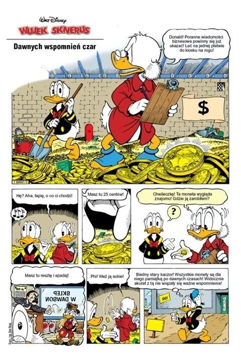 Comic Donald Duck - Dawnych Wspomnien Czar