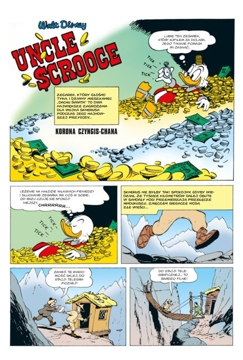 Comic Donald Duck - Korona Czyngis-Chana