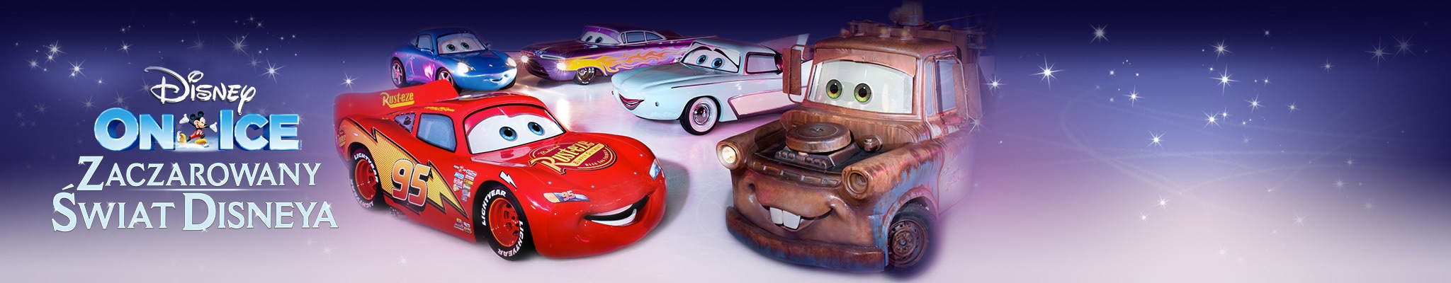 FW Short Hero - Disney on Ice - Worlds of Enchantment - Cars