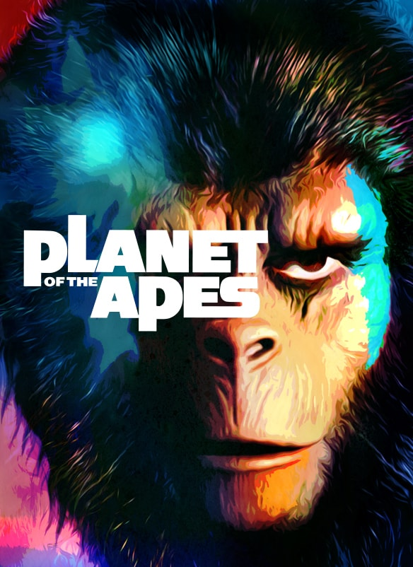 Planet of the Apes (1968) movie poster