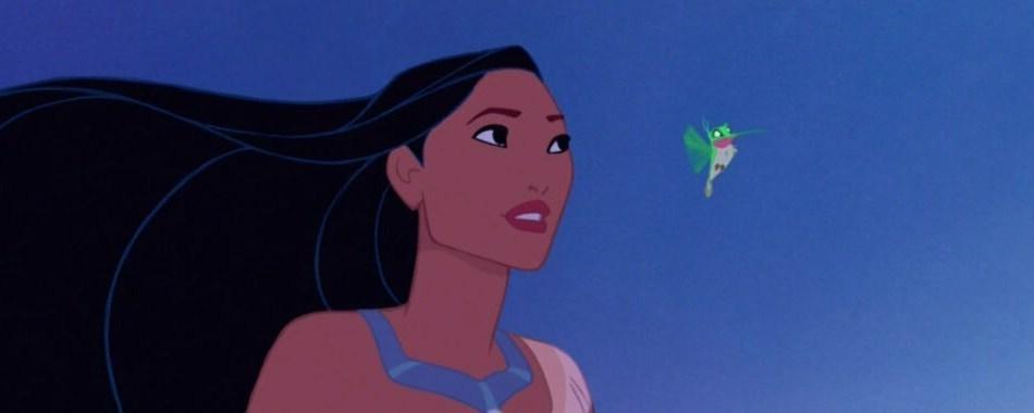 """Pocahontas from the animated movie """"Pocahontas"""""""