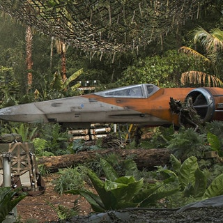 Poe Dameron's X-wing fighter