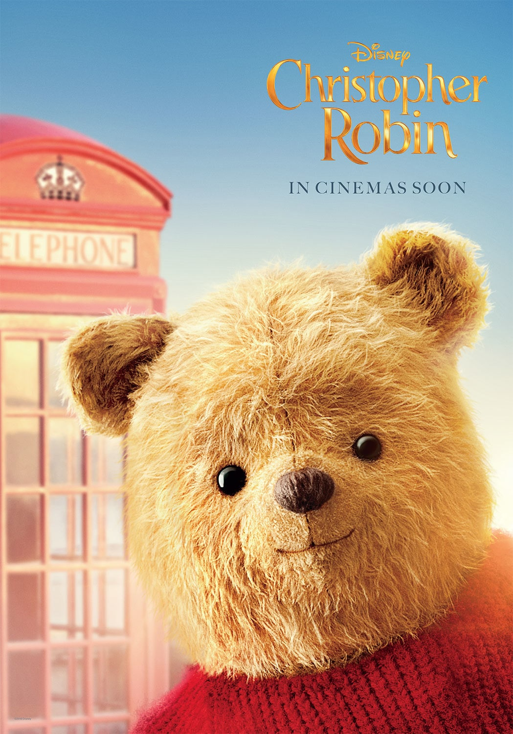 Disney's Christopher Robin - Winnie The Pooh