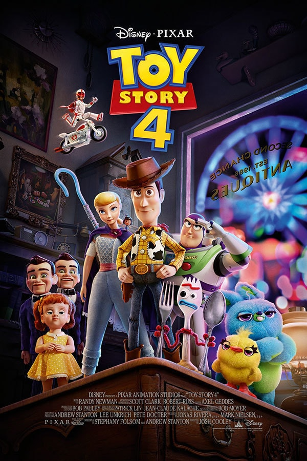 Disney and Pixar Toy Story 4