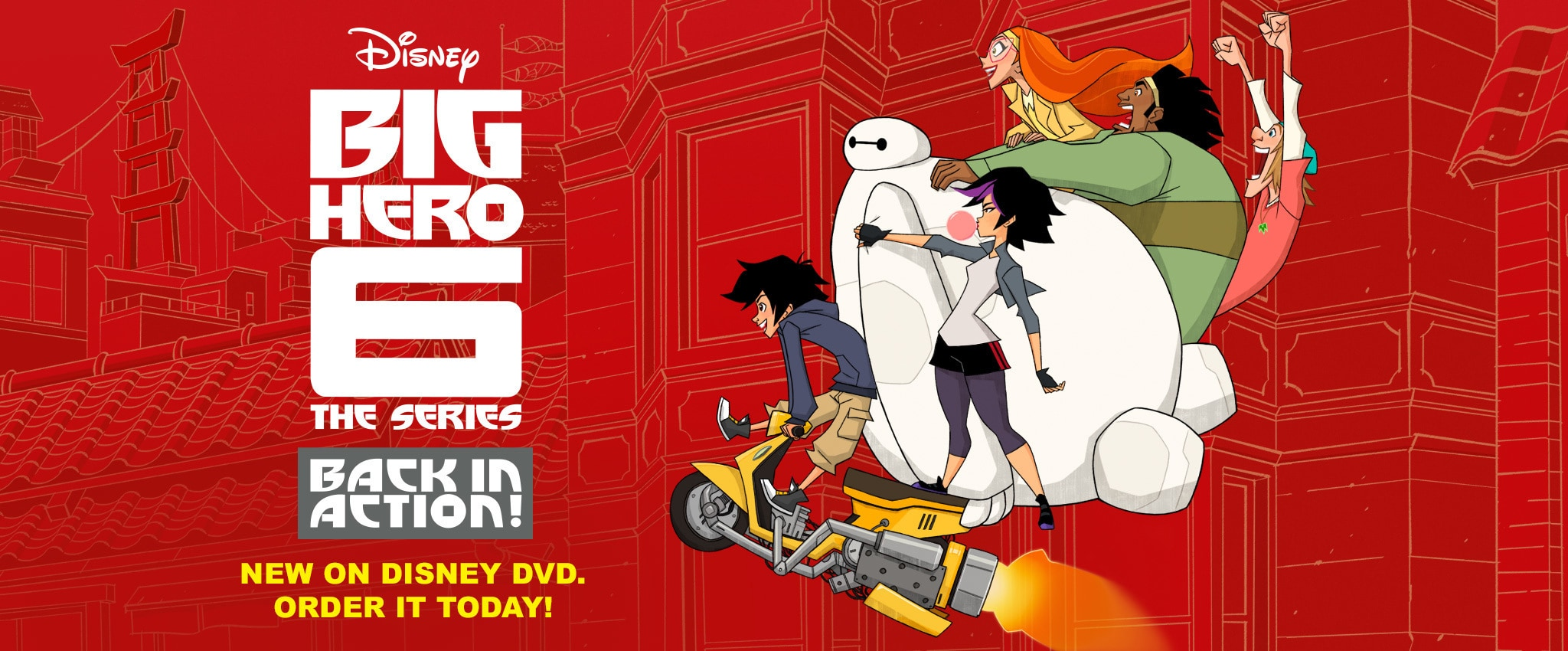 Big Hero 6 - Baymax Returns - New on Disney DVD. Order it today!