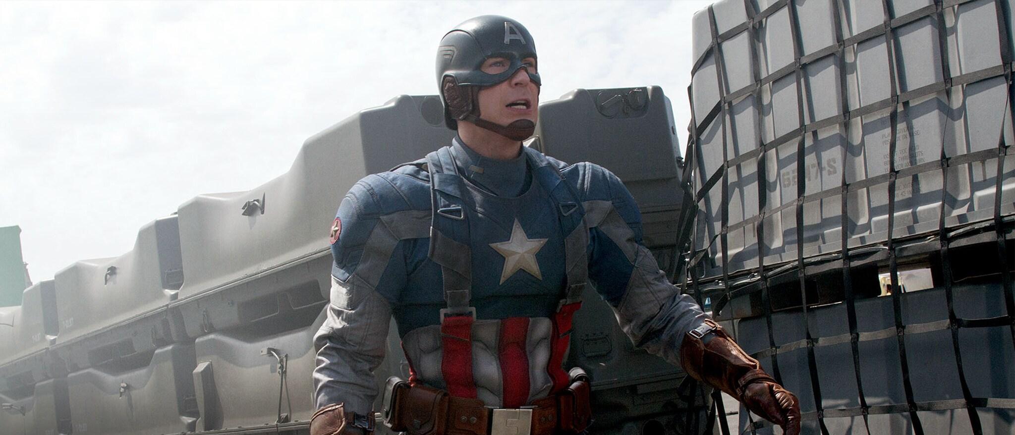 Captain America: The Winter Soldier Hero