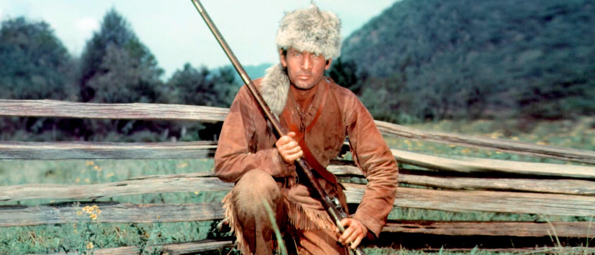 Davy Crockett: King of the Wild Frontier Hero
