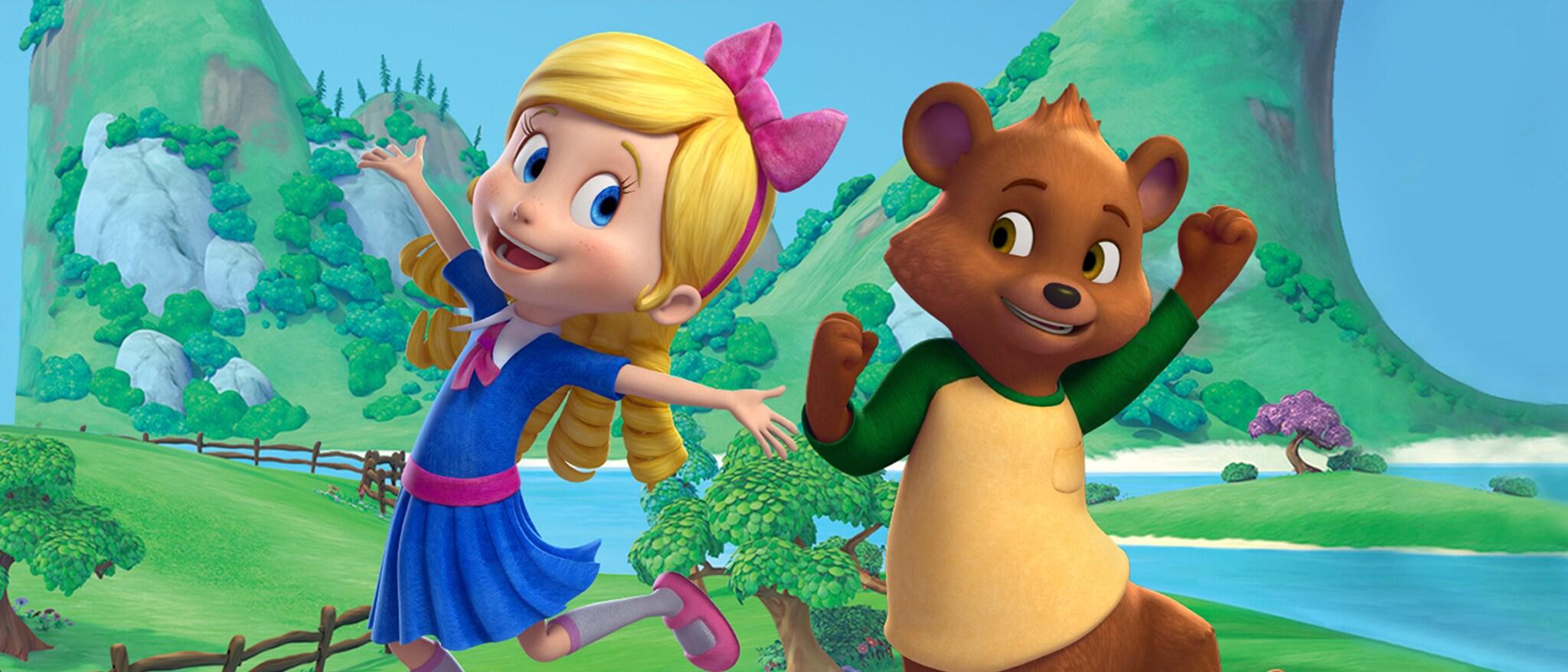 Goldie & Bear Hero