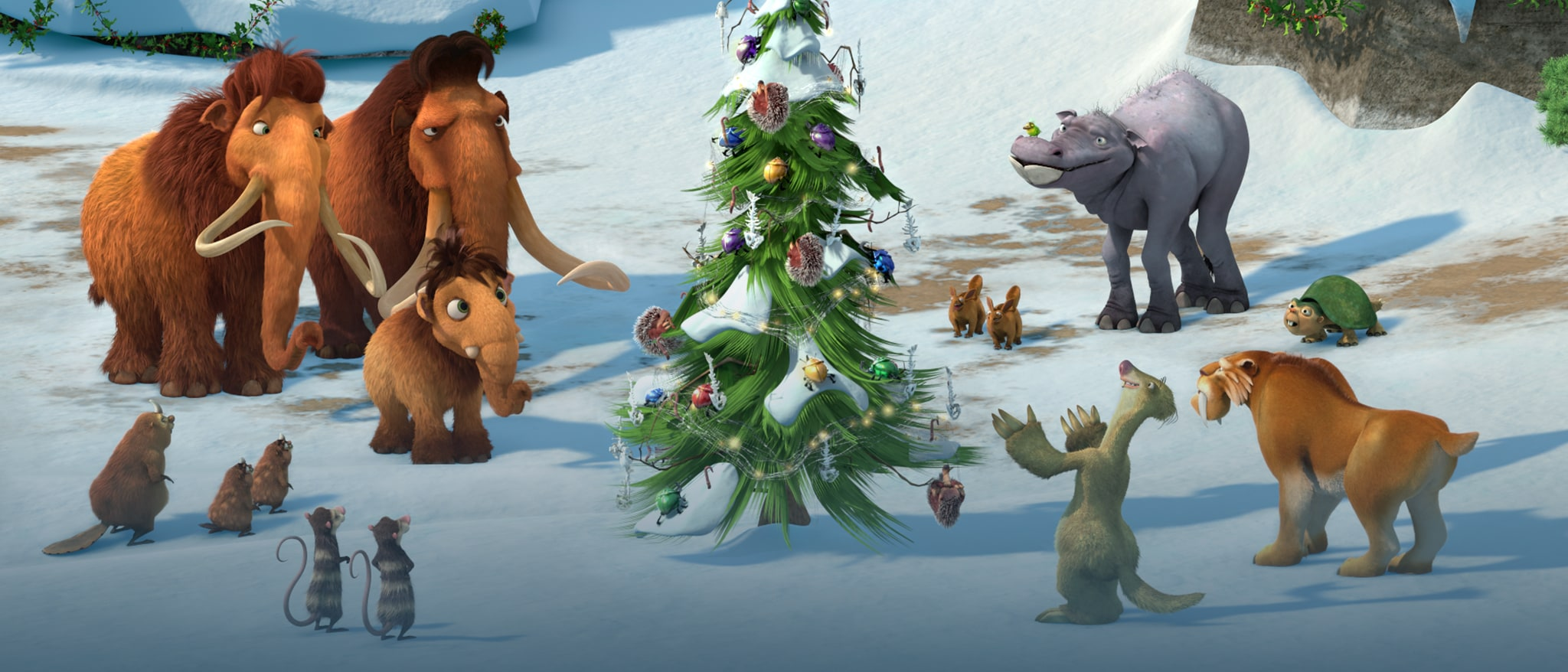 Ice Age: A Mammoth Christmas Hero