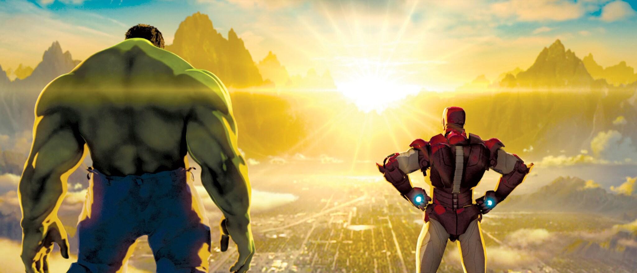 Iron Man & Hulk Heroes United Hero
