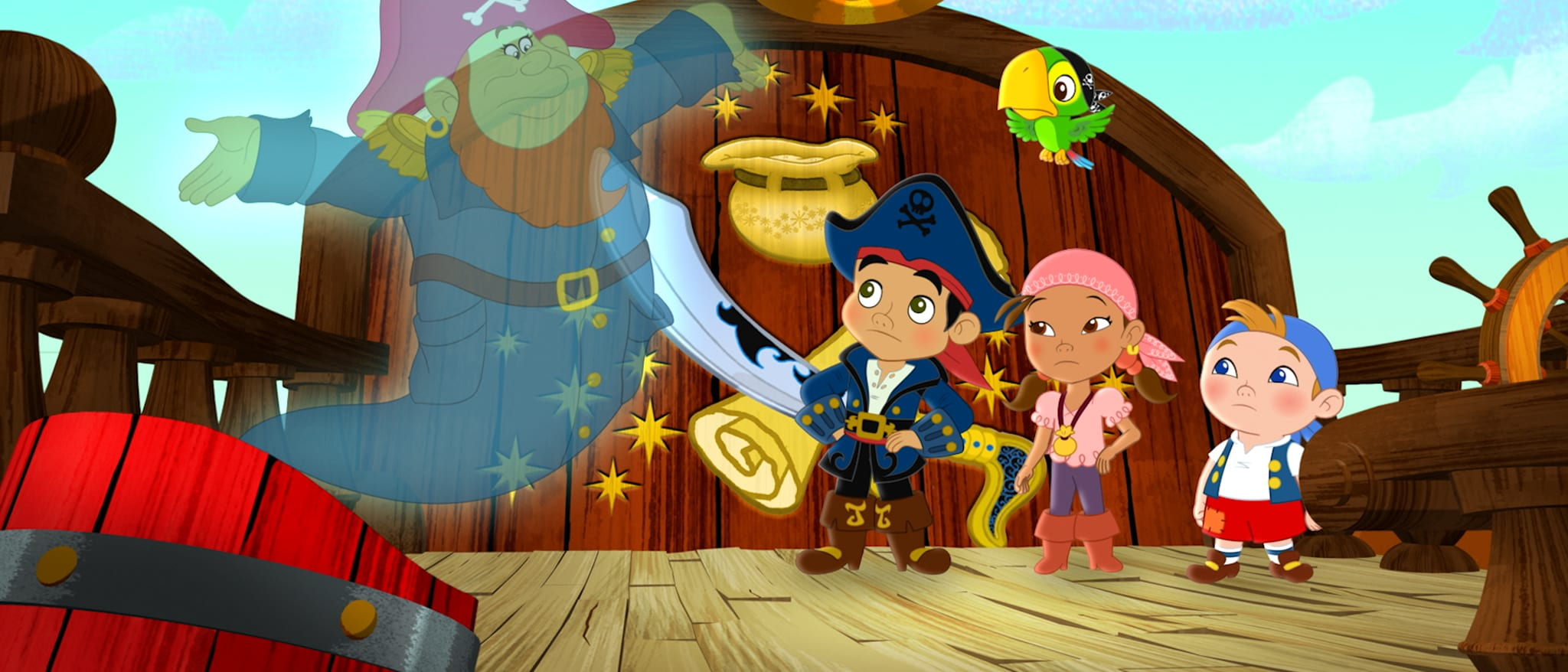 Jake and The Never Land Pirates hero