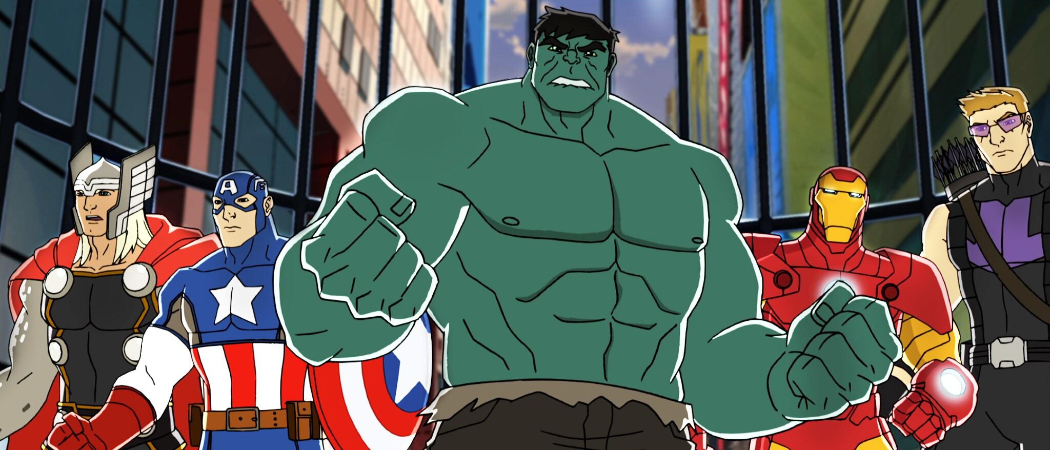 Marvel's Avengers Assemble Hero
