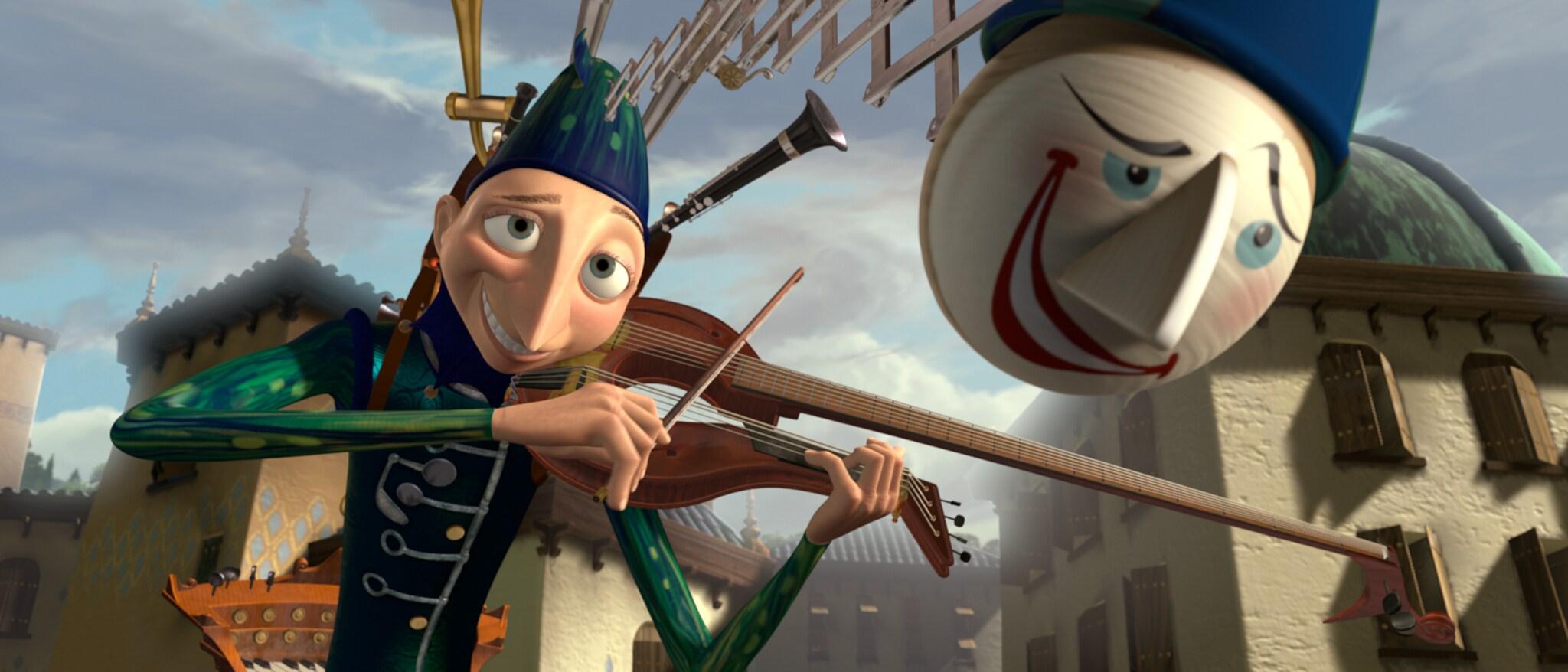 Pixar Short Films Collection, Vol. 1 Hero
