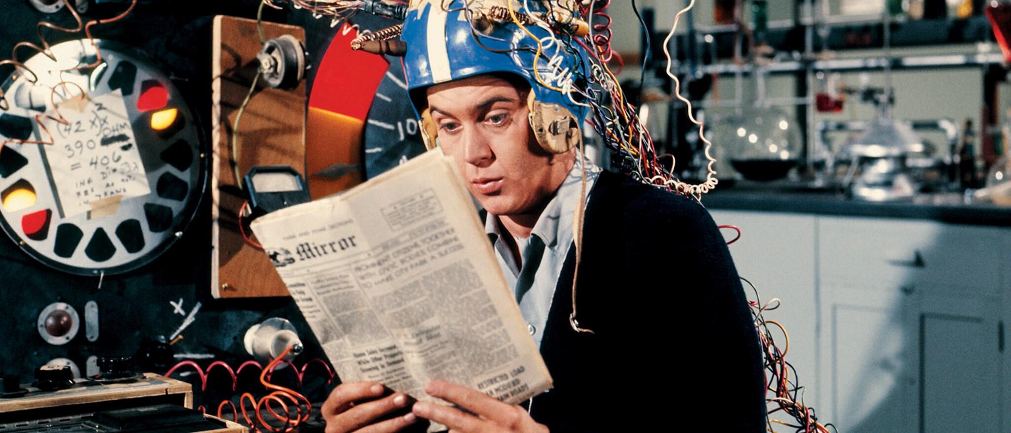The Misadventures of Merlin Jones Hero