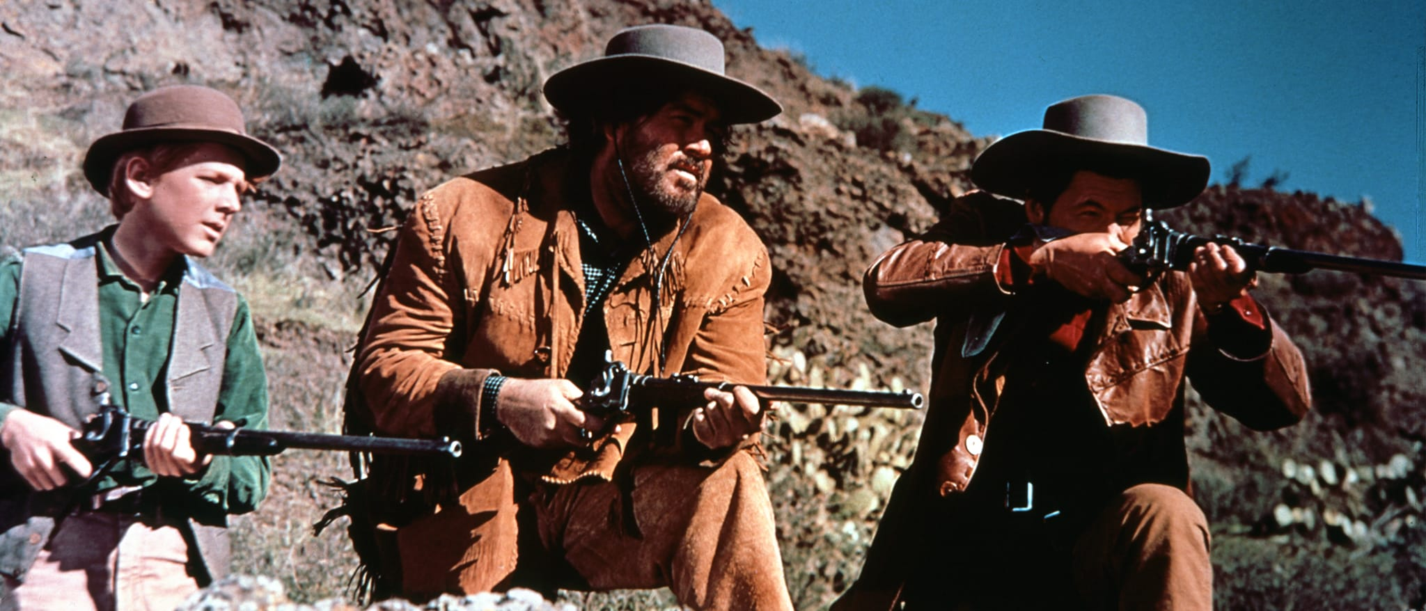 Westward Ho, the Wagons! Hero