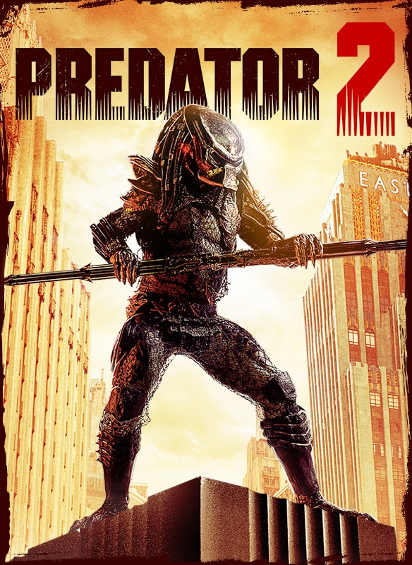 Predator 2 movie poster