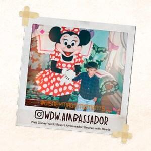 Foto da Minnie Mouse dá início ao Meu Primeiro Desafio Personagem Disney