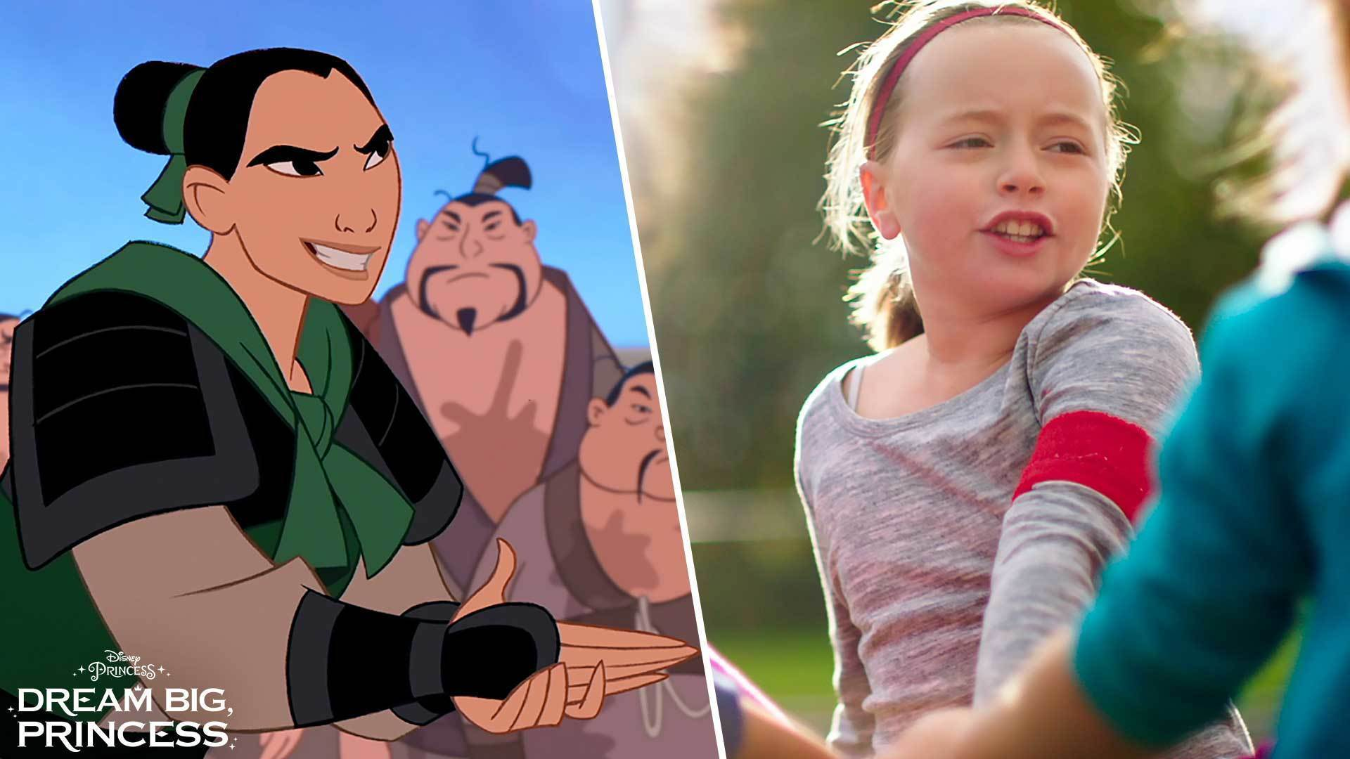 Dream Big, Princess – Side-by-Side Mulan | Disney Junior