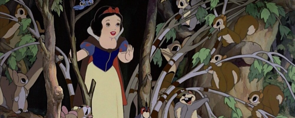 "Princess Snow White from the movie ""Snow White and the Seven Dwarfs"""