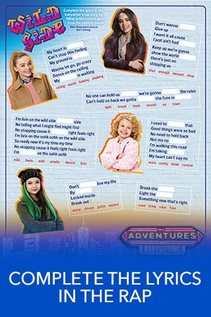 Adventures in Babysitting - Complete the Lyrics in the Rap