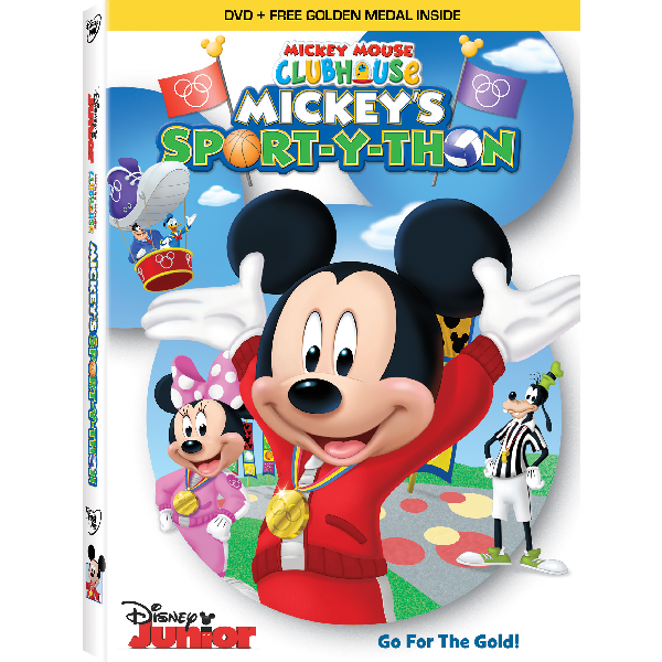 Mickeyu0027s Sport-y-Thon DVD  sc 1 st  Disney Movies & Mickey Mouse Clubhouse Products | Disney Movies