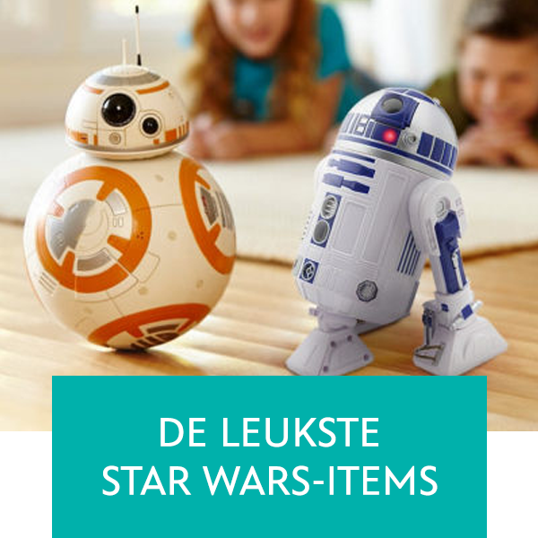 De leukste Star Wars-items