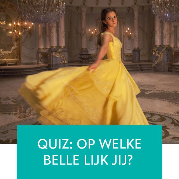 Op welke Belle lijk jij?
