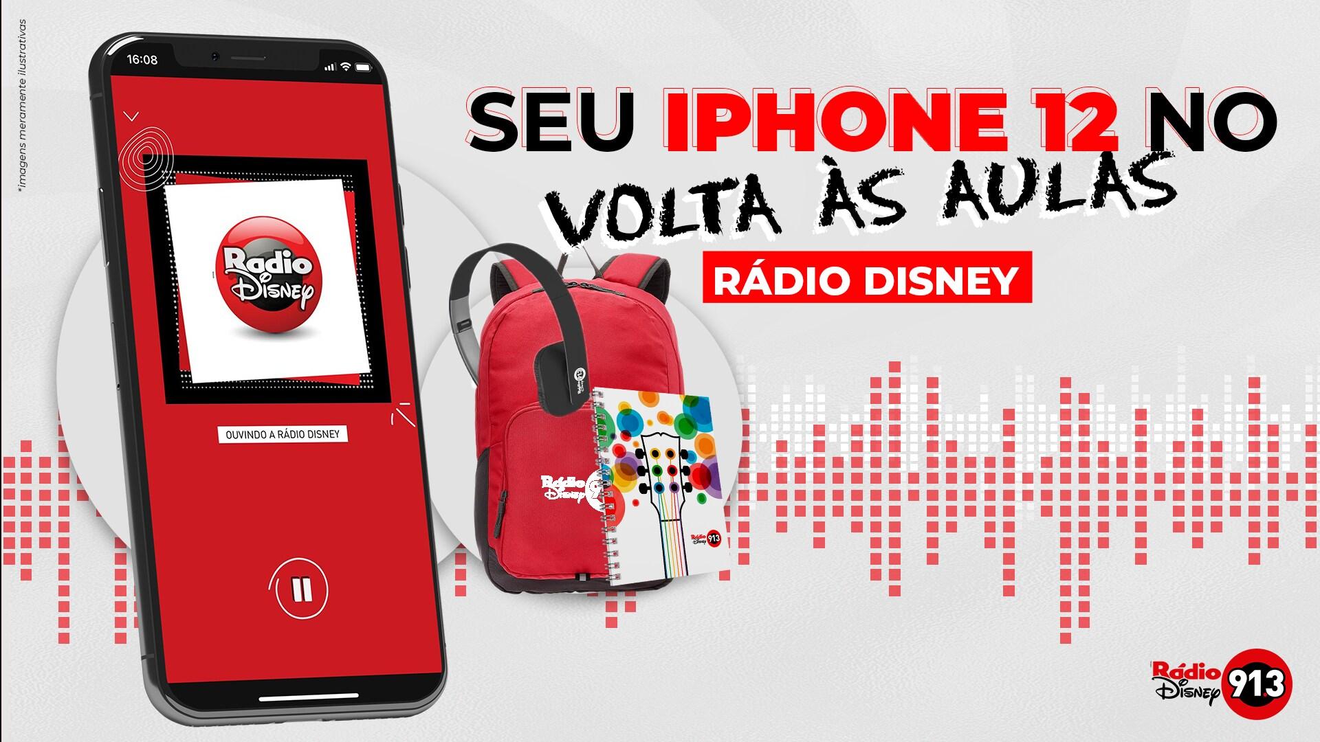 SEU IPHONE 12 ESTÁ NO VOLTA ÀS AULAS RÁDIO DISNEY