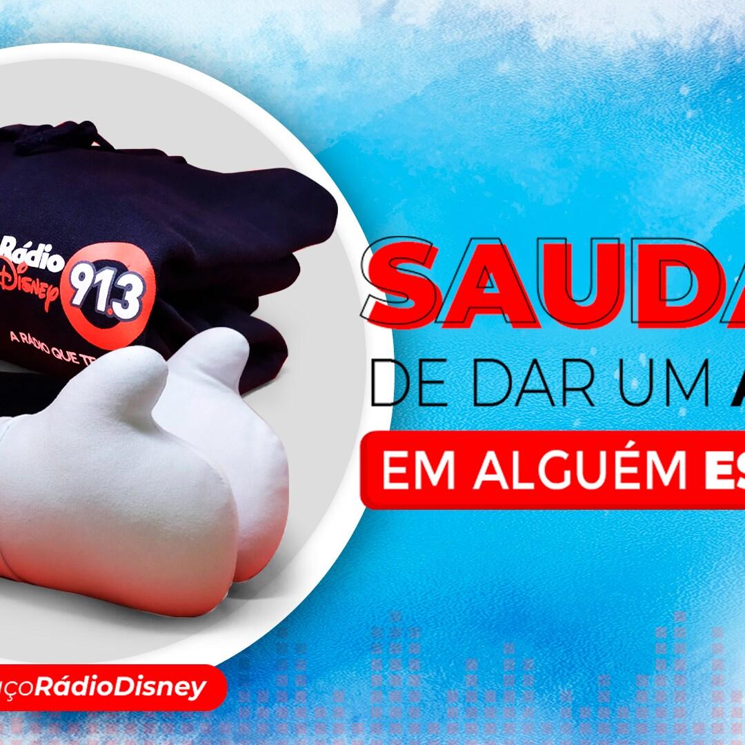 Abraço Rádio Disney + Moletom