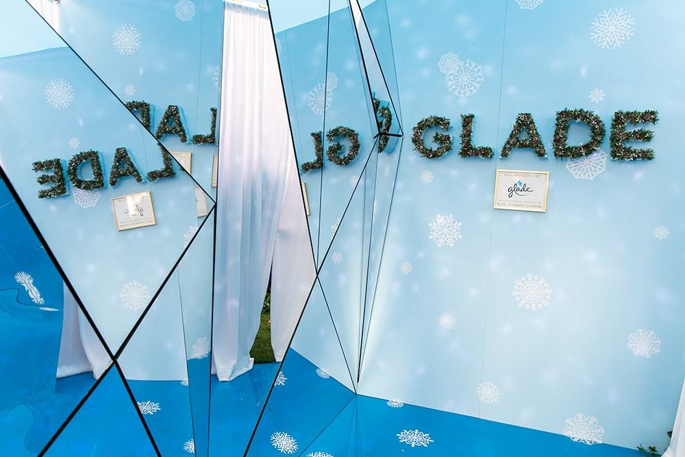 The Land of Snowflakes portion of The Nutcracker and the Four Realms New York City pop-up experience